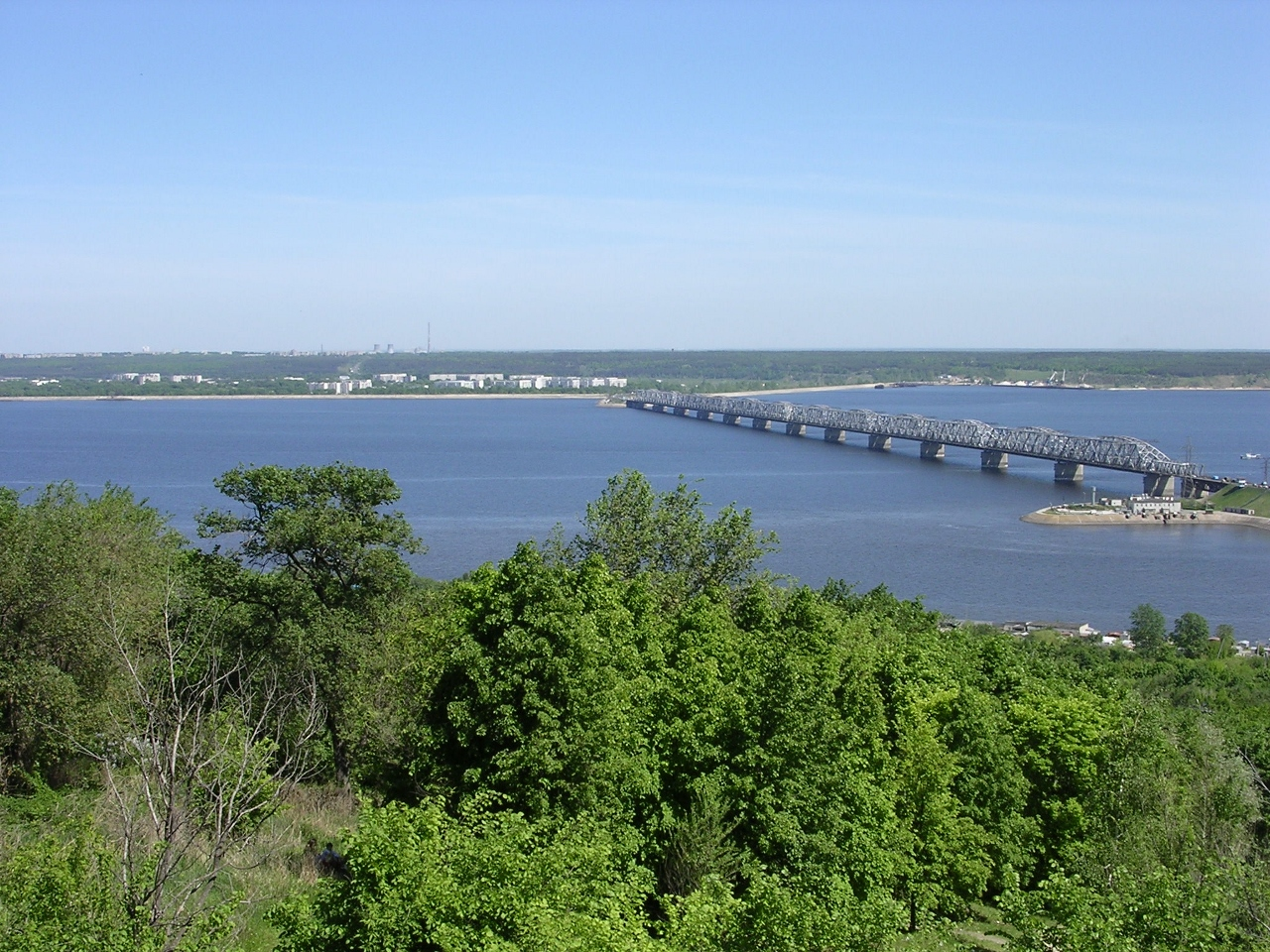 The Volga River in Europe is popular with river cruising.