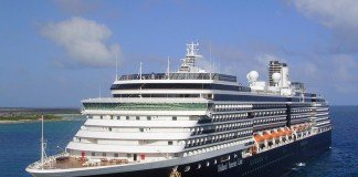 Holland America Line's MS Westerdam in dock.