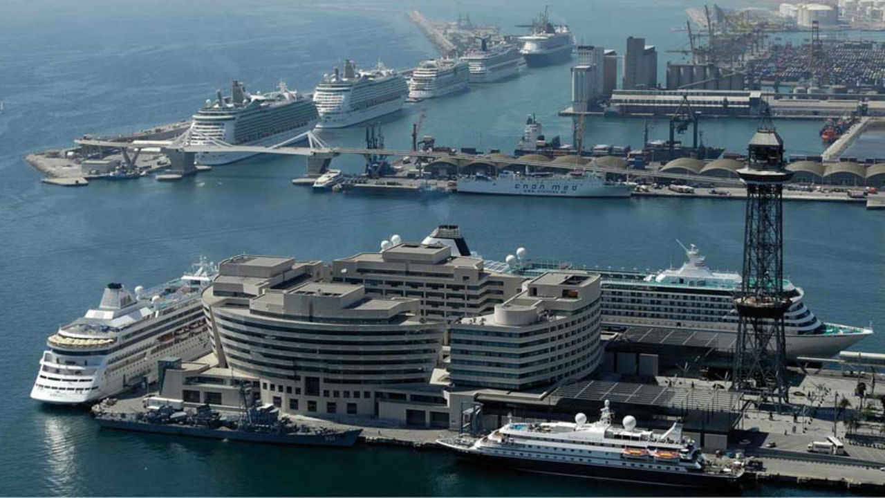 Dozens of cruise ships visit Barcelona each week during the peak season - there's plenty of choice.