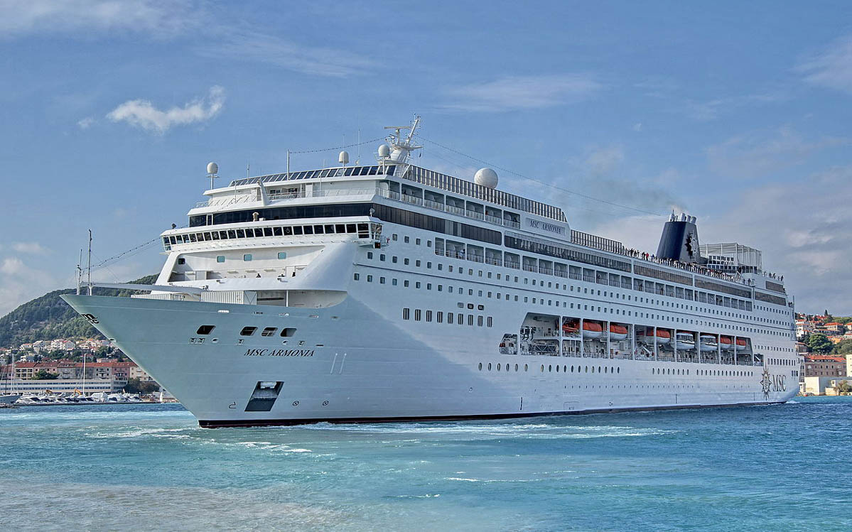 MSC Armonia is one of two MSC Cruises ships sailing to Cuba.