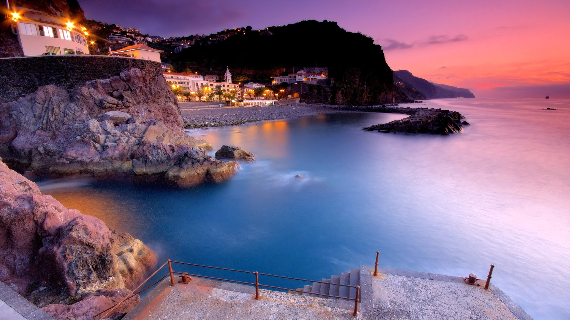 Madeira, provides an overnight port of call experience for passengers aboard P&O's Aurora.