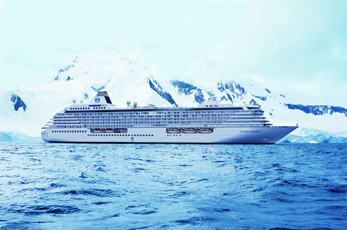 Crystal Serenity, will be the largest cruise ship to ever transit the Northwest Passage.