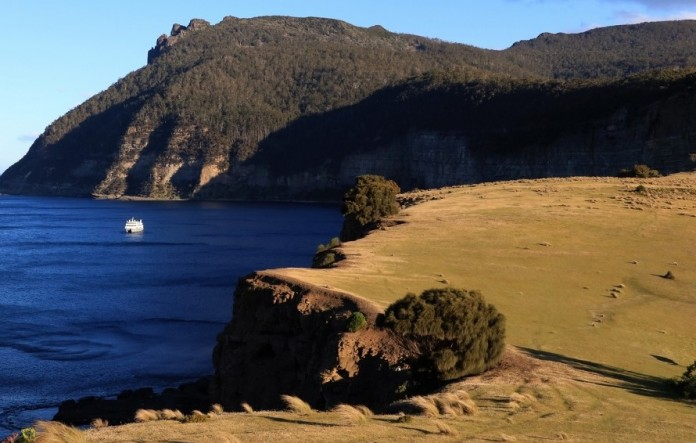 Maria Island is a highlight of a Coral Expeditions cruise in Tasmania.