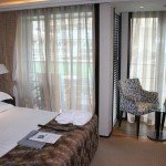 A look at the stateroom on APT river cruise ship AmaBella.