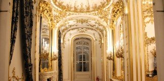 Inside Vienna's City Palace.