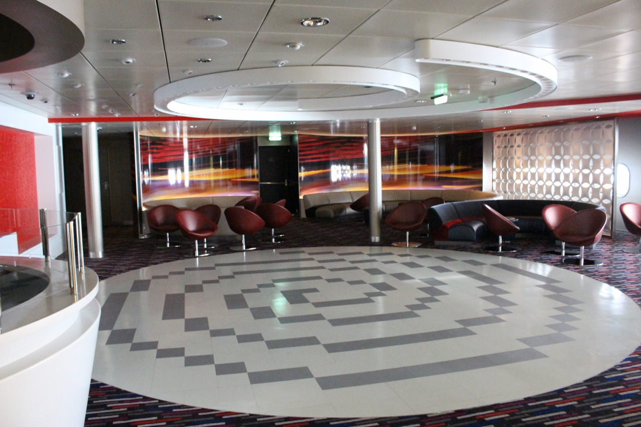 Harmony of the Seas features many night spots - one of which is exclusively for teenagers.