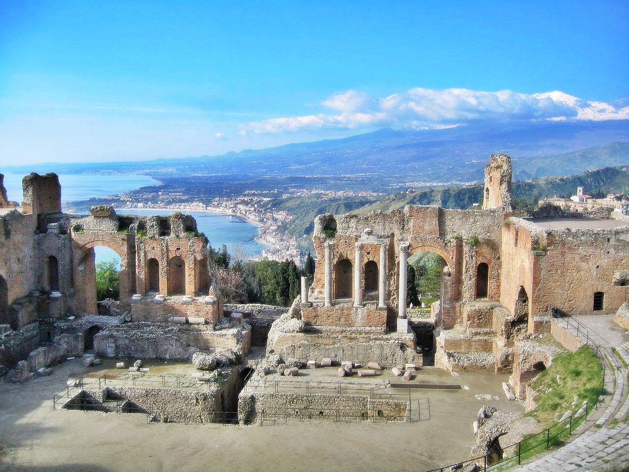 Rich in Italian history, Taormina is one of those off-the-beaten-track ports in Italy.