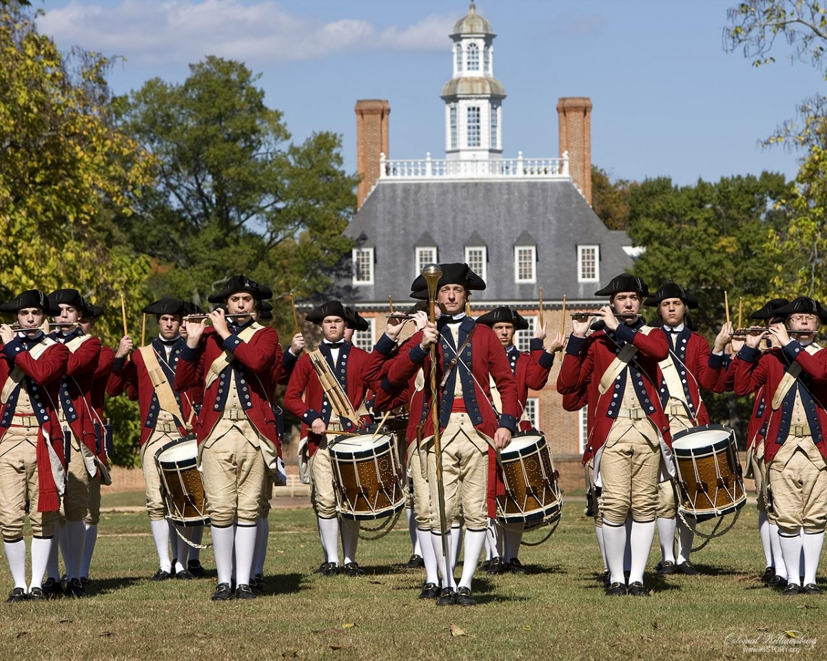 Williamsburg is considered the capital of Colonial America.
