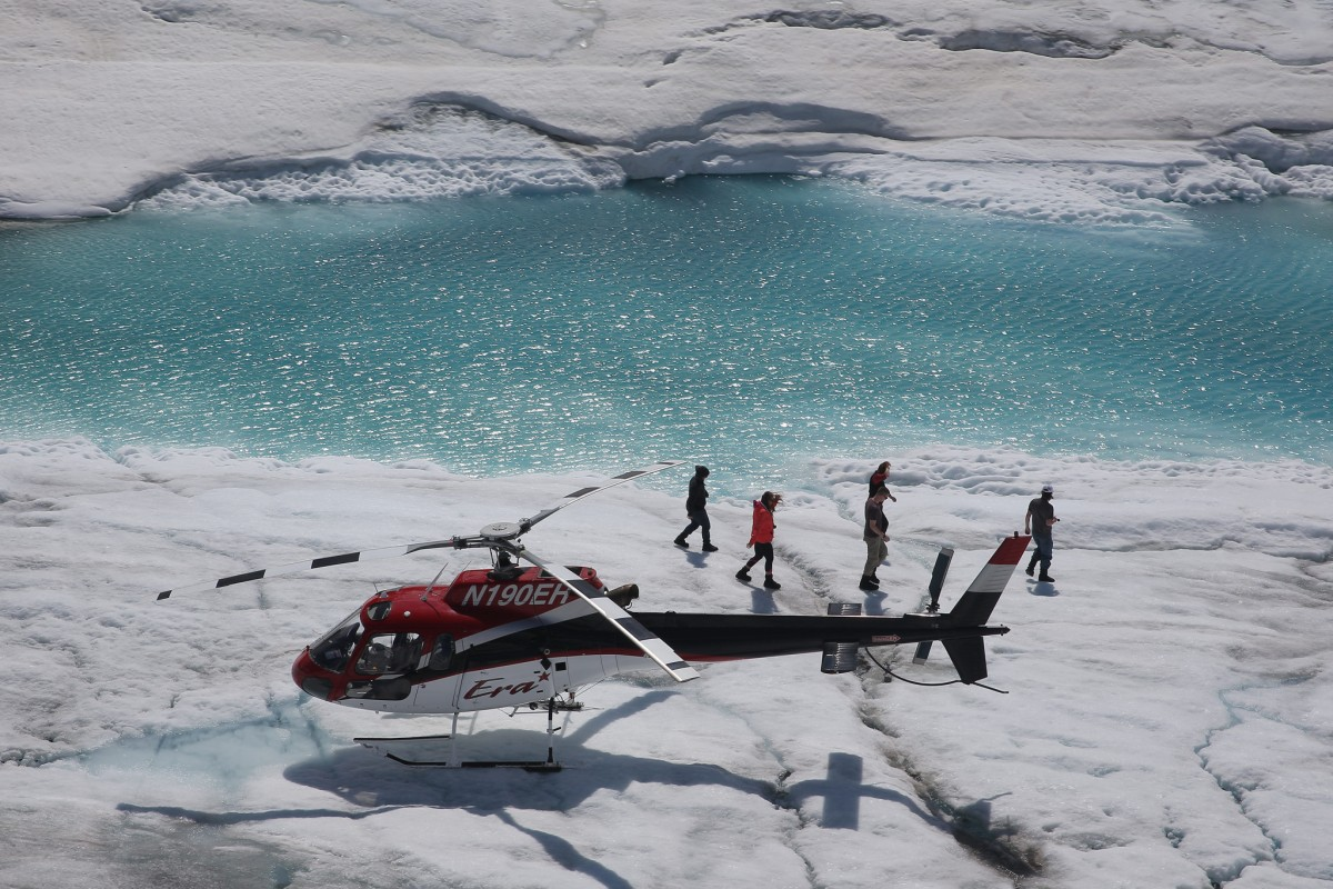 Tours such as those including helicopter flights are less likely to be cancelled during the drier shoulder months.