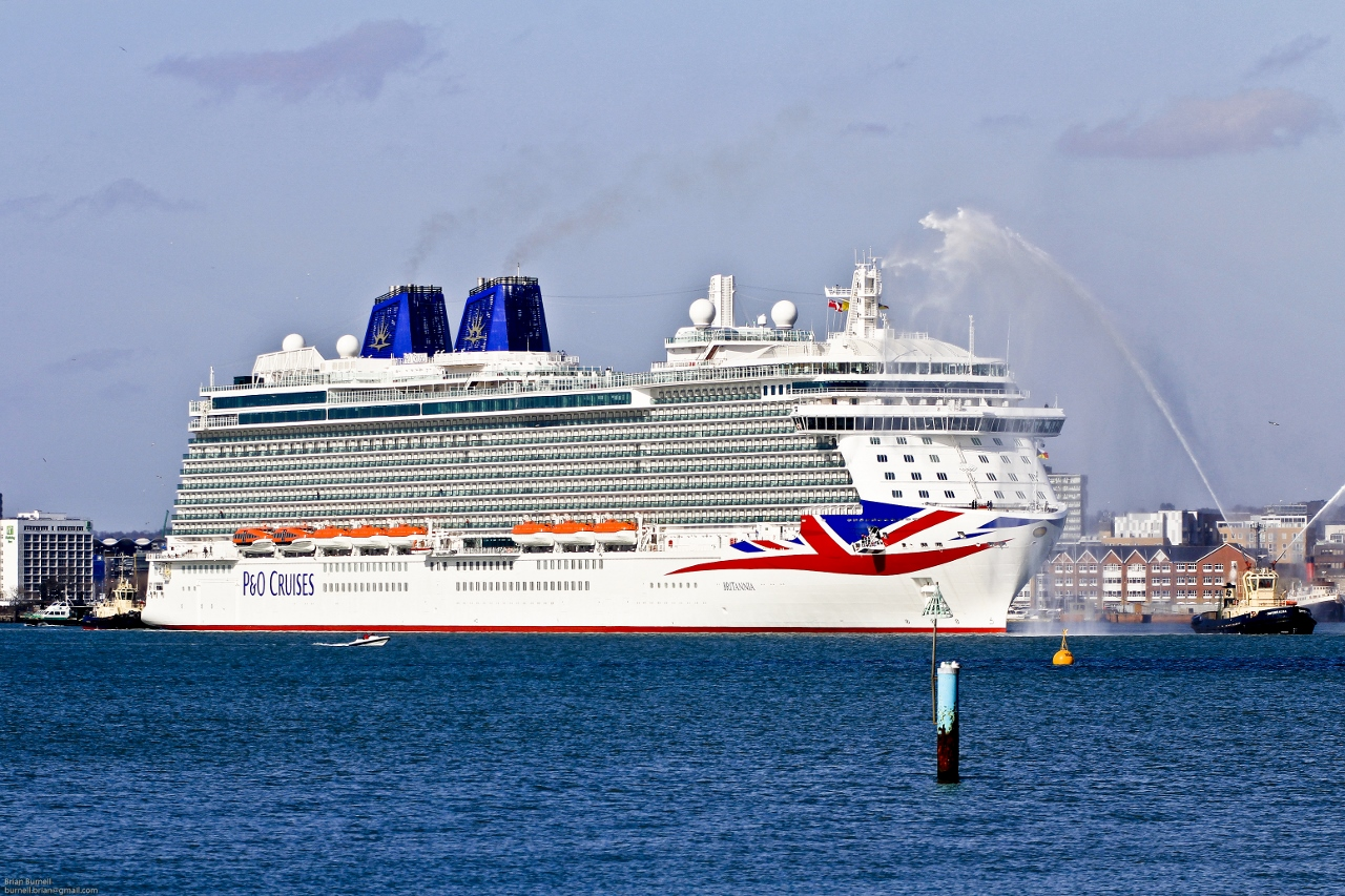 P&O Cruises UK last took delivery of a new ship in 2015 in Britannia.