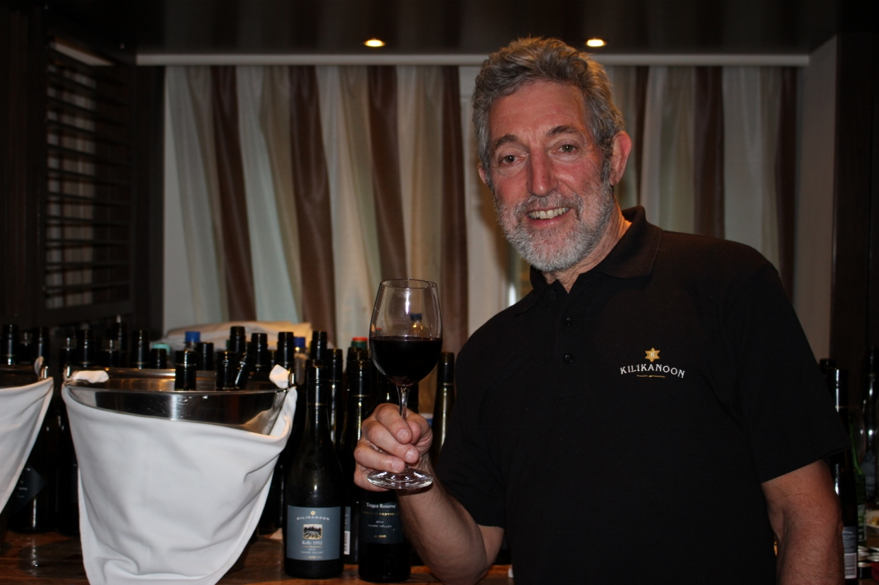There was no shortage of wine at Nathan Waks' own fully hosted APT Wine Series dinner onboard.