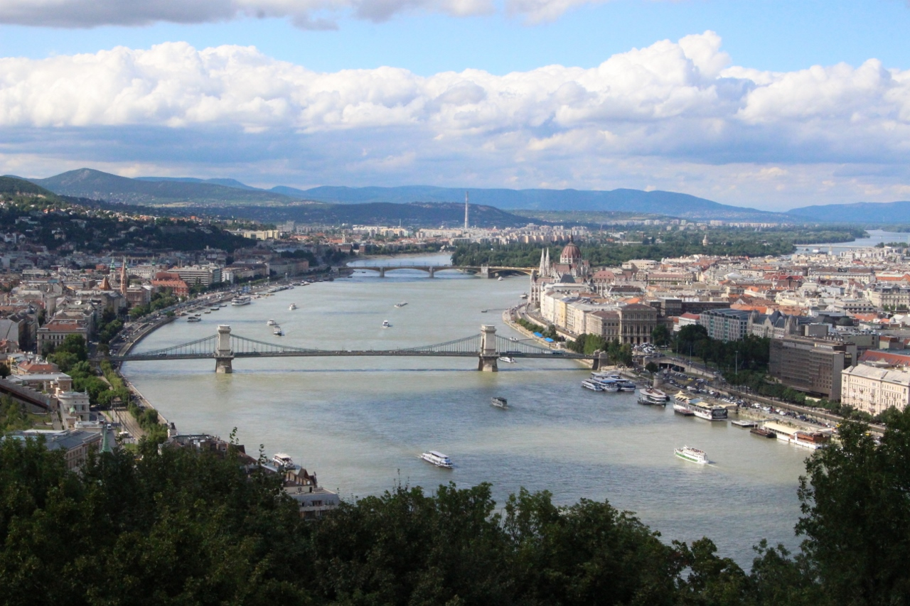 The lifeblood Danube River of Budapest is also the setting off point for many river cruises in Europe.