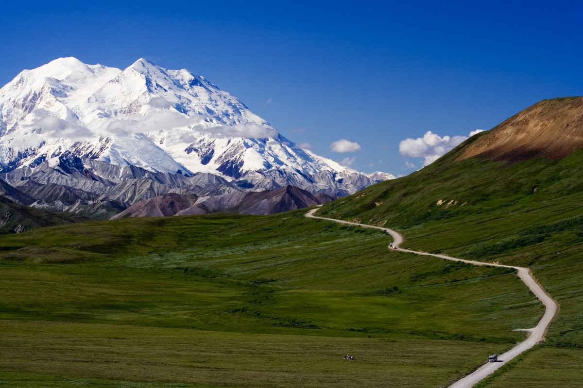 Denali National Park's famed Mount McKinley sits just outside of Anchorage.
