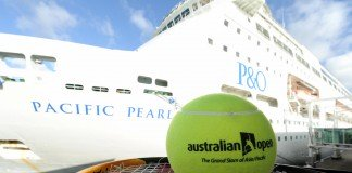 P&O Cruises' Pacific Pearl is Set to Cruise to the Australian Open