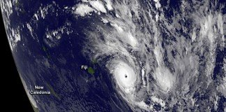 Cruise ships are extremely well prepared to deal with inclement weather in the South Pacific such as cyclones.