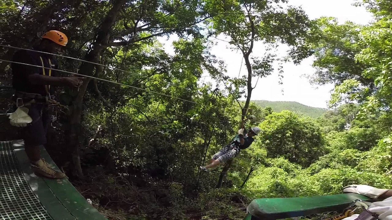 The Sleeping Giant Ziplining is located a short drive from Port Denarau and Lautoka in Fiji.