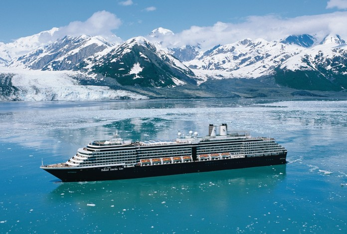 Holland America Line's MS Oosterdam will be relocated to Alaska for 2017.