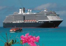 MS Zuiderdam cruises many parts of the world for Holland America Line including the Caribbean.