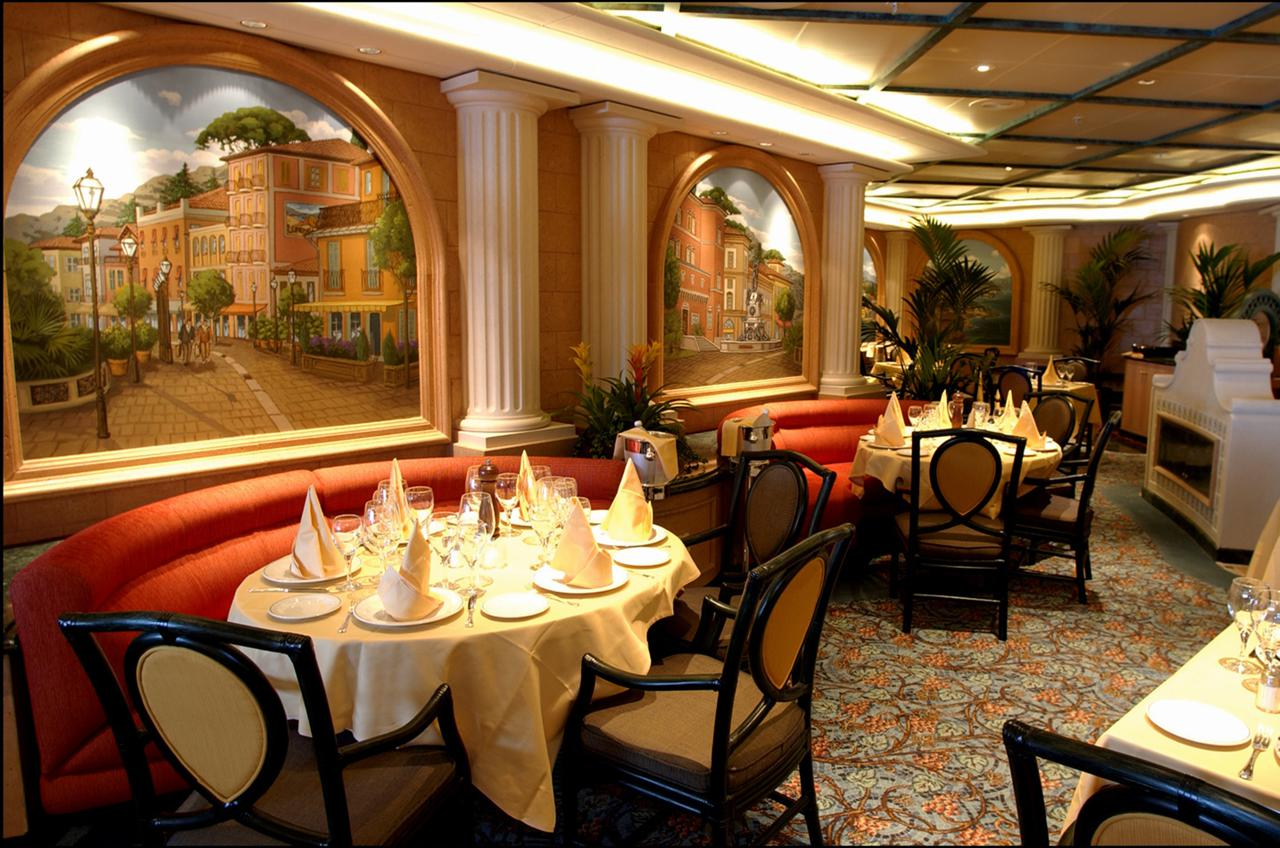 Anytime Dining is not available on Diamond Princess, so guests will need to preselect a fixed dinner time for their entire voyage at booking.