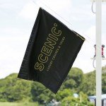 Scenic flew its flag on the maiden voyage of its new Irrawaddy vessel Scenic Aura.