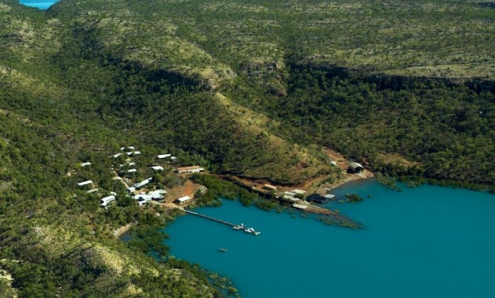 P&O Cruises will stop in the Kimberley's Kuri Bay as part of a cruise in 2017.