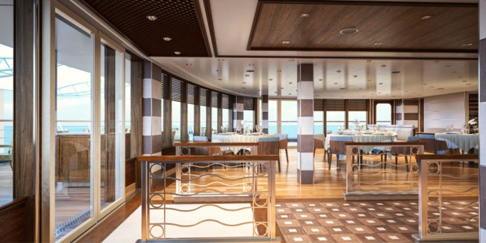 La Terrazza is a popular mainstay of dining on Silversea Cruises