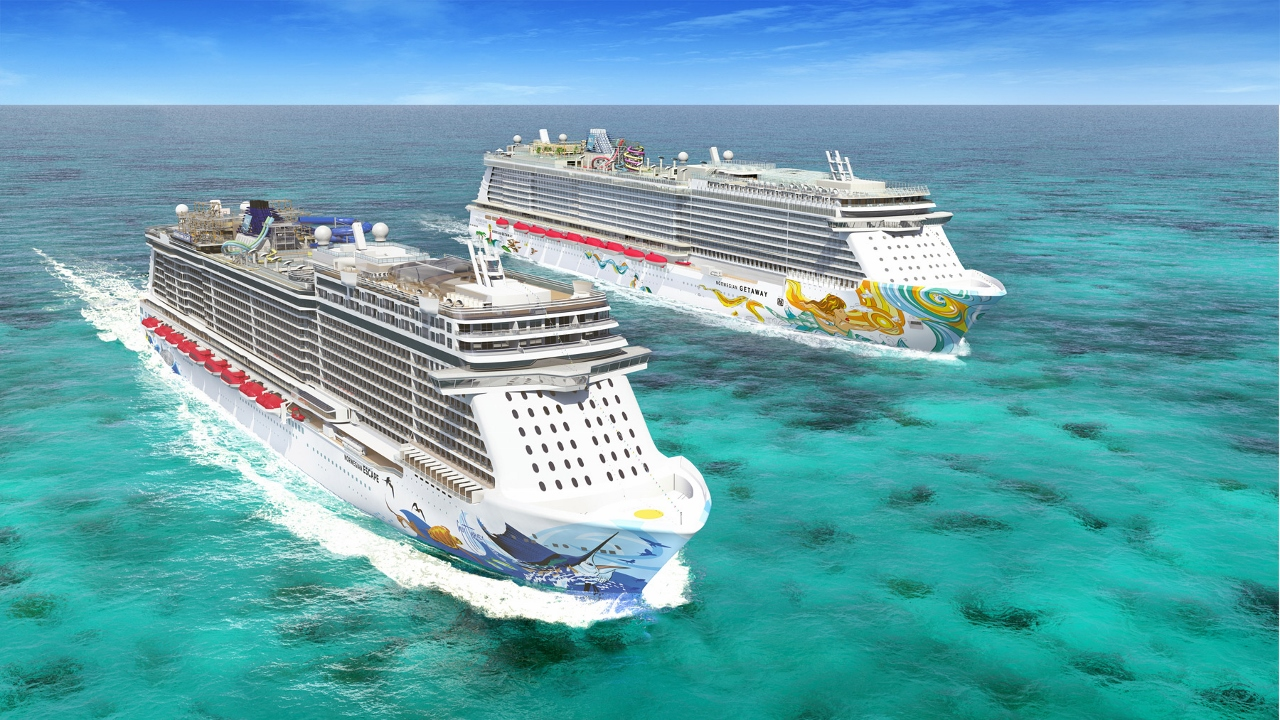 Norwegian Cruise Line now sails with 14 ships around the world.
