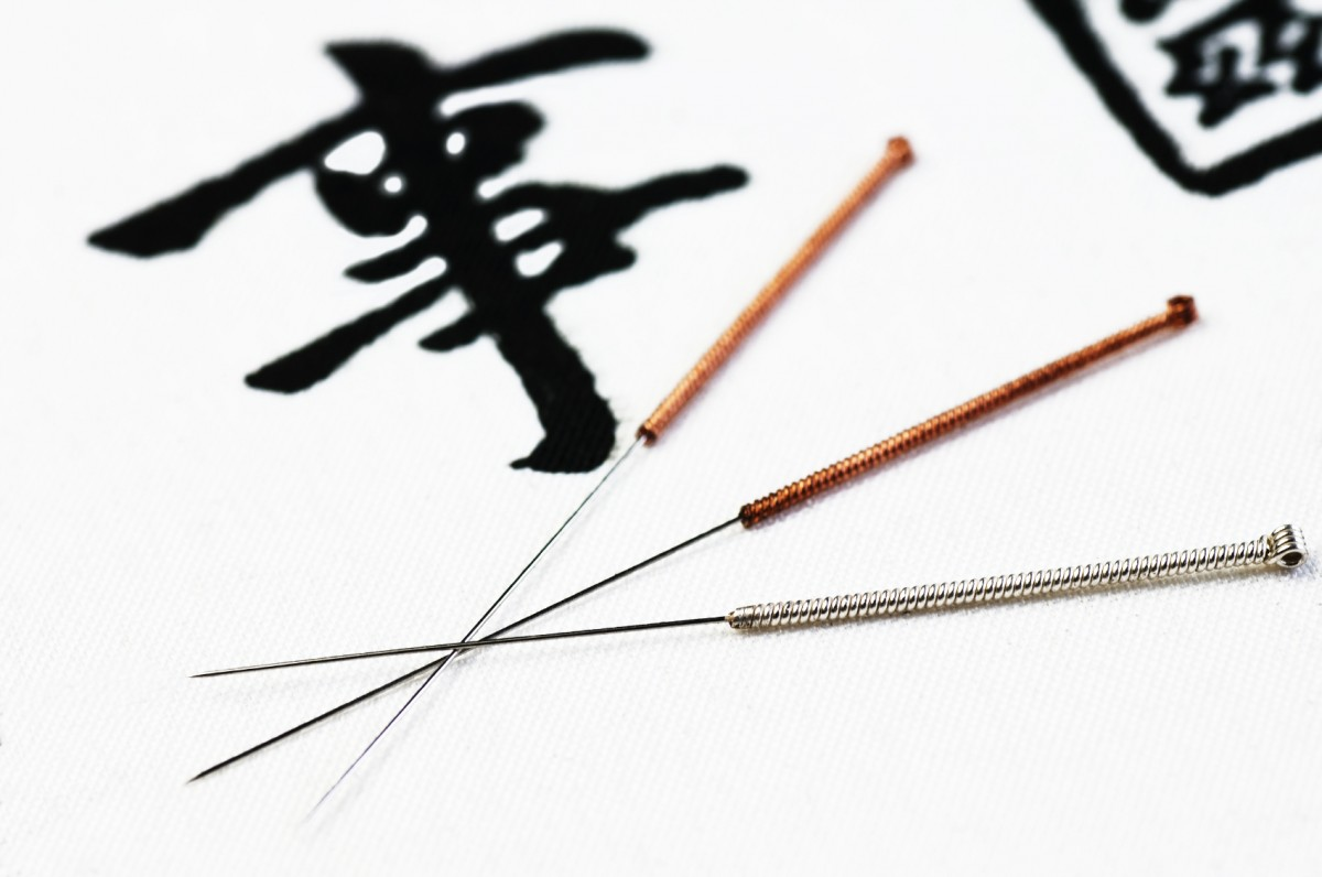 Acupuncture is a service available in many cruise ship spas.
