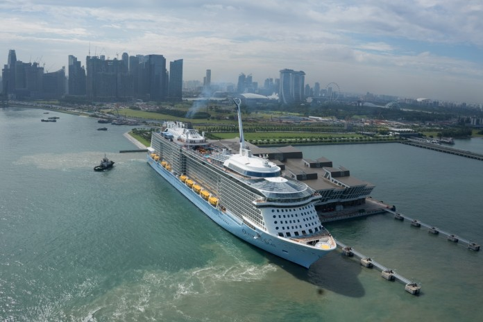 Royal Caribbean's Ovation of the Seas sets sail for Australia today!