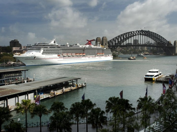 Carnival Spirit and Carnival Legend both sail from Sydney each summer.