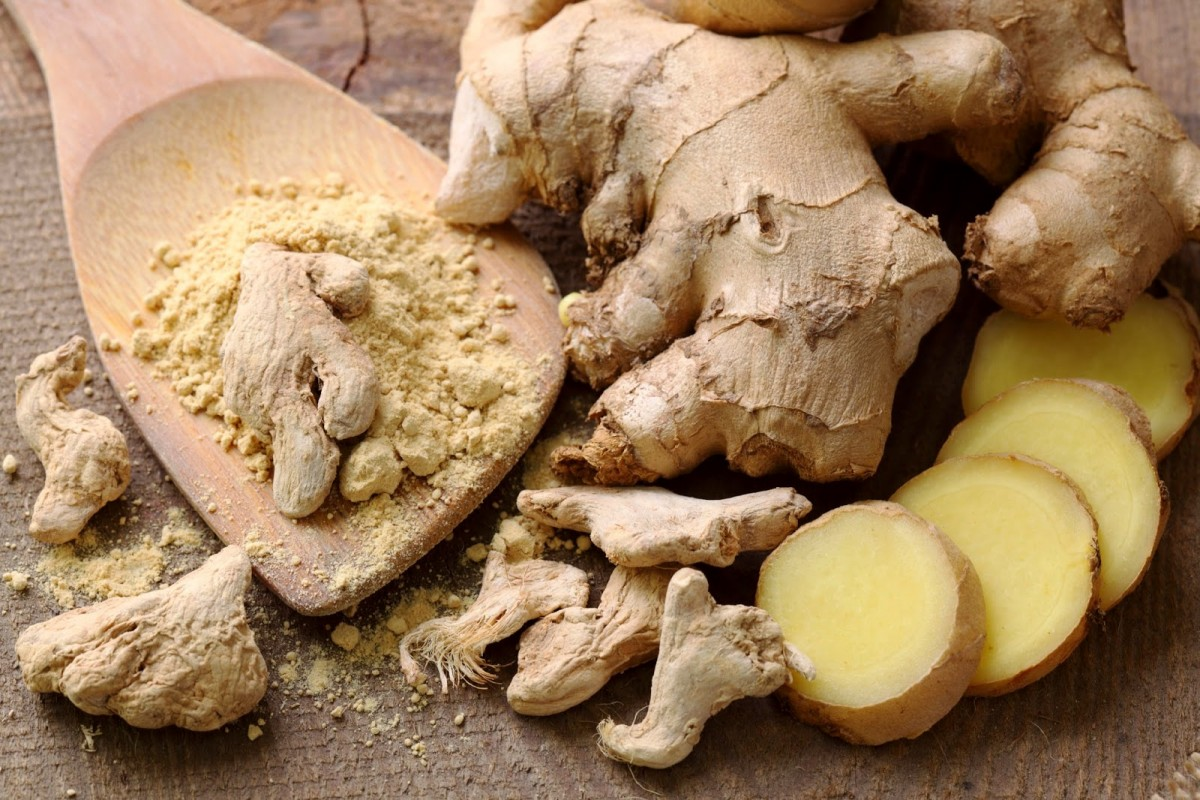 Good old fashioned ginger is another natural solution.