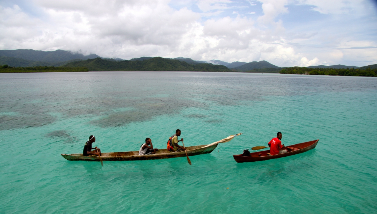 No matter the weather, The Solomon Islands are beautiful to visit.