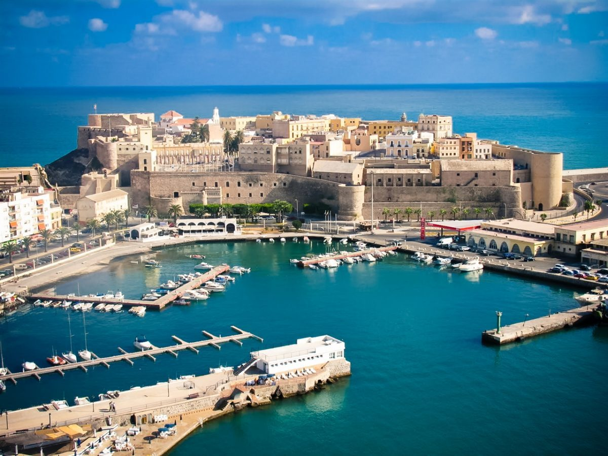 The original city of Ceuta in Spanish Morocco. Is a port of call on Holland America Line voyages,