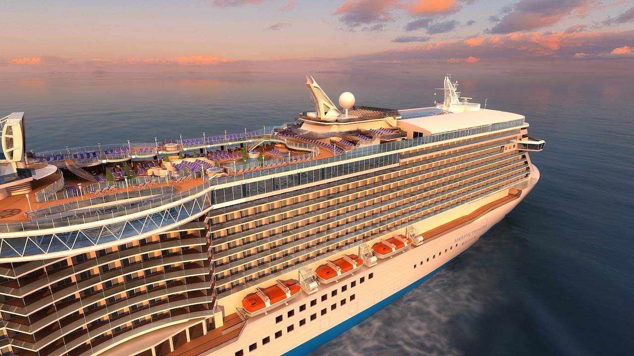 Majestic Princess will be the third of Princess Cruises' Royal class of ship.
