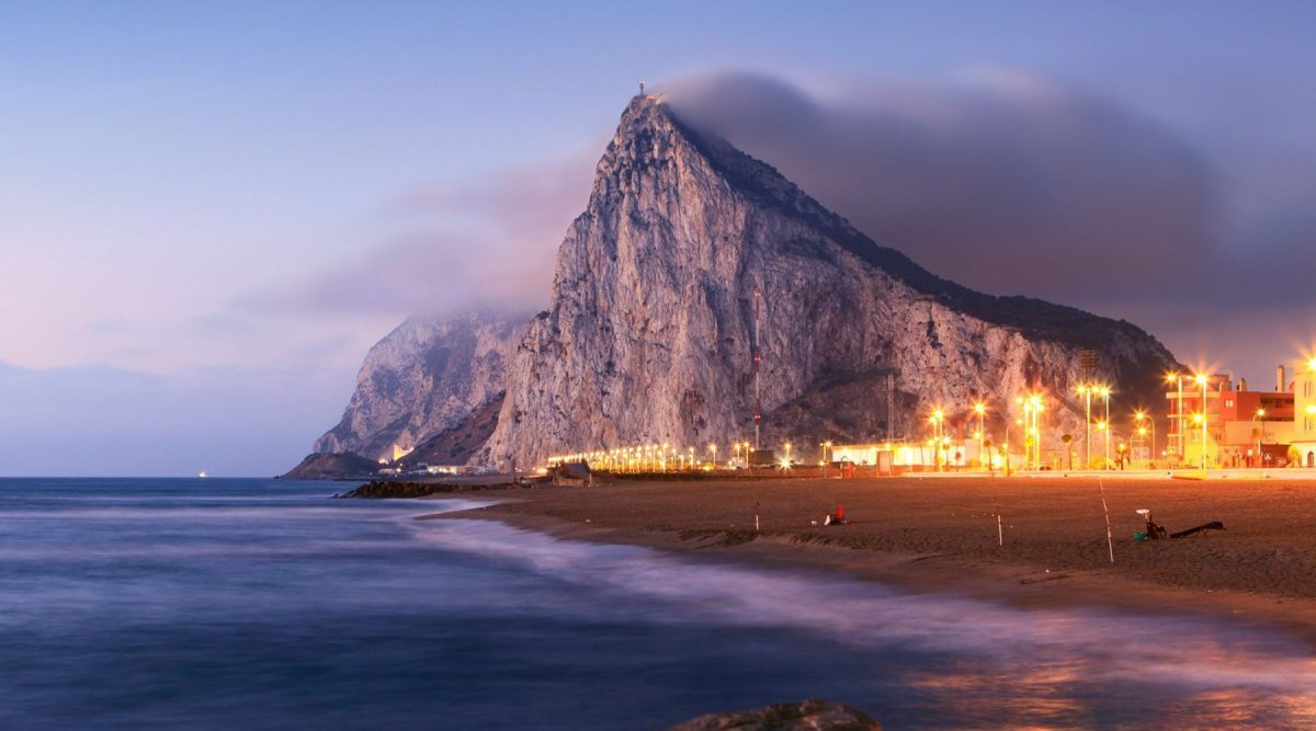 The rock of Gibraltar acts as interesting destination on Cunard's