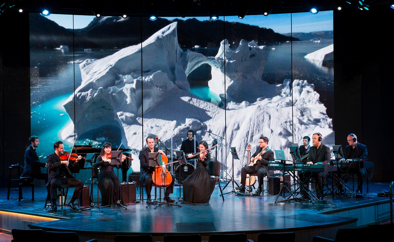 Frozen Planet Live will combine evocative footage from around the world mixed with a live orchestral performance on Holland America Line.