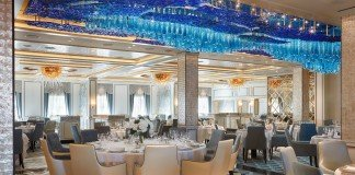 Compass Rose restaurant on Seven Seas Explorer.