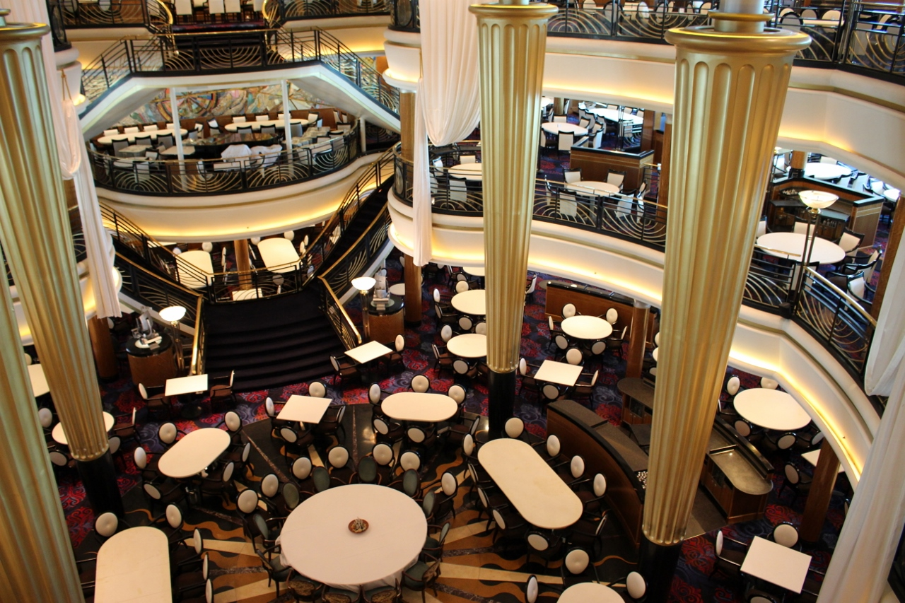 With so many tables, it's a testament to the standard of Royal Caribbean how well special dietary needs can be met in a dining room this size.