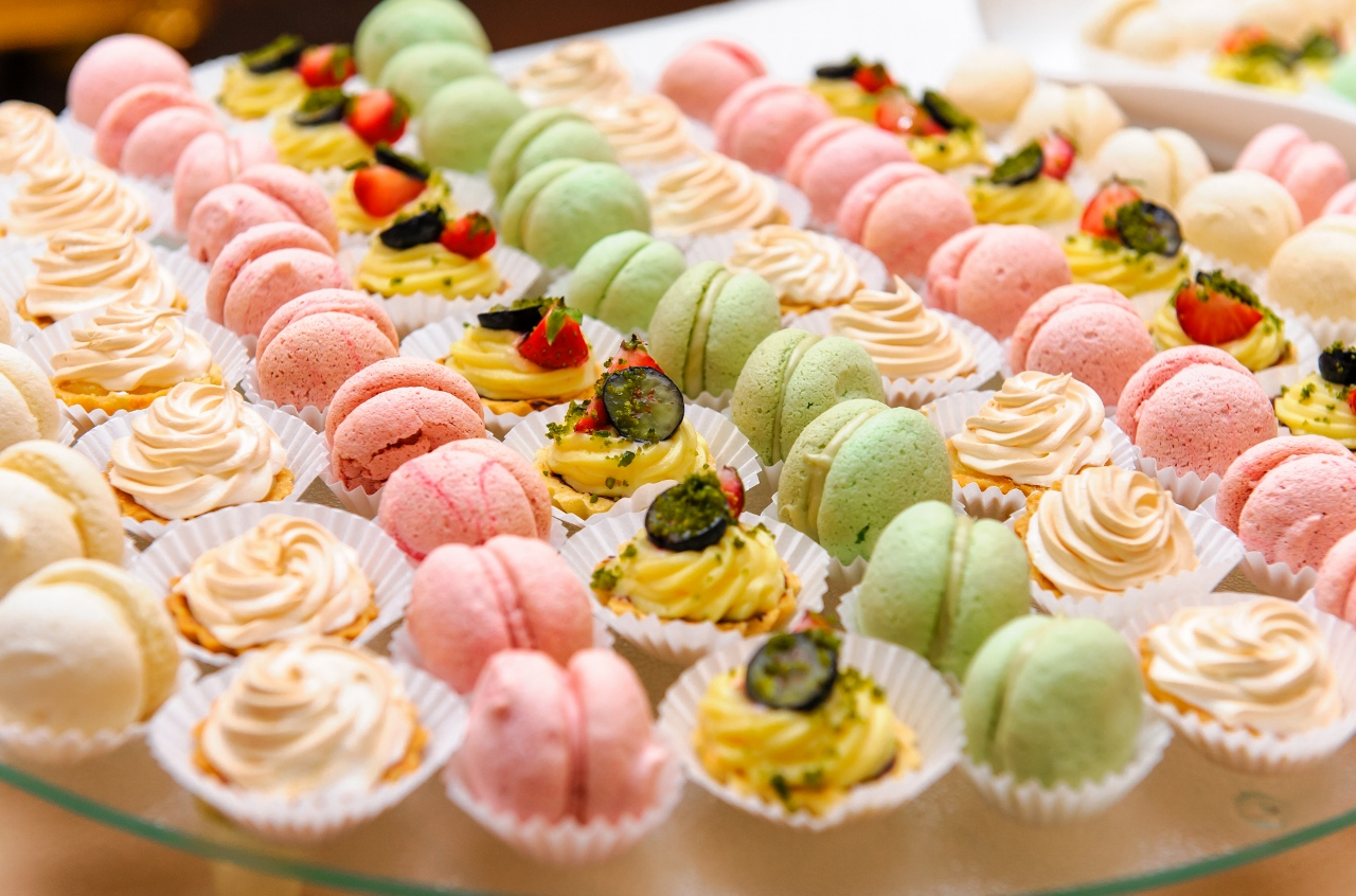 There's no need to miss out at that sweets buffet - there are plenty of options catering to all sorts of diets.