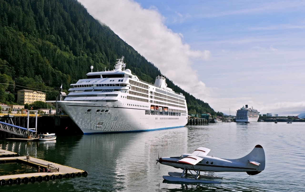 Juneau is pretty as a picture and a popular stop for ships visiting Alaska.