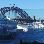 Two cruise ships are set to sail from Sydney Harbour.
