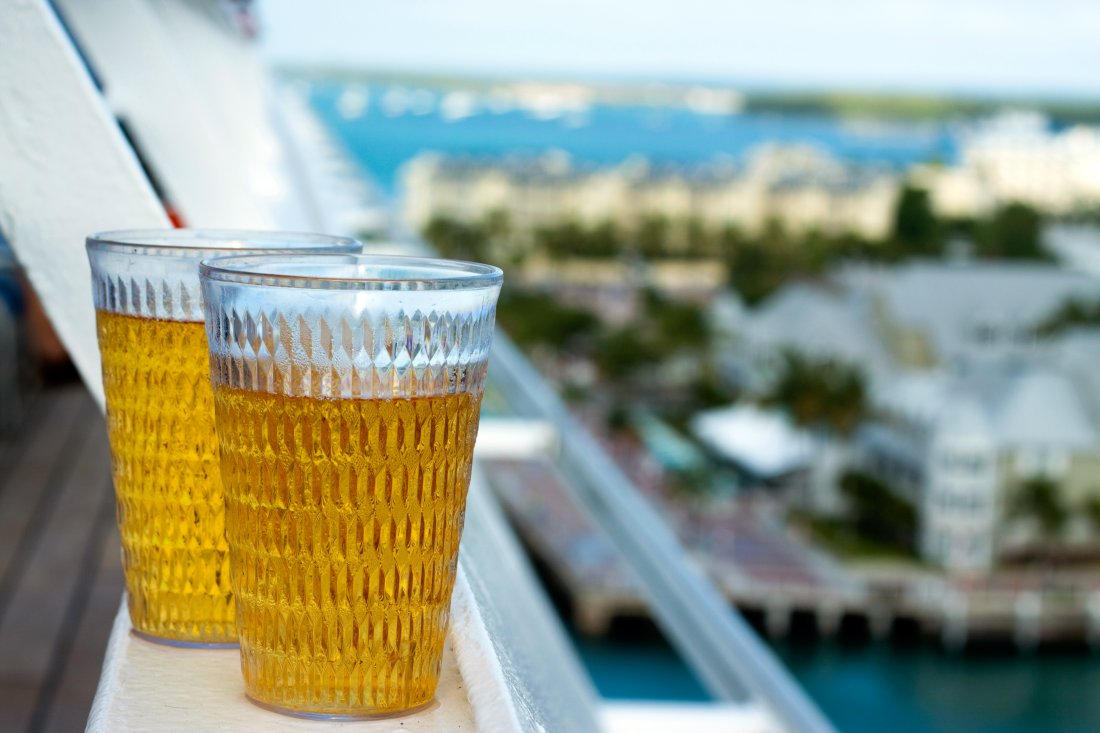 Order a glass of Great Barrier Beer on your next P&O cruise and contribute to the preservation of the Barrier Reef.