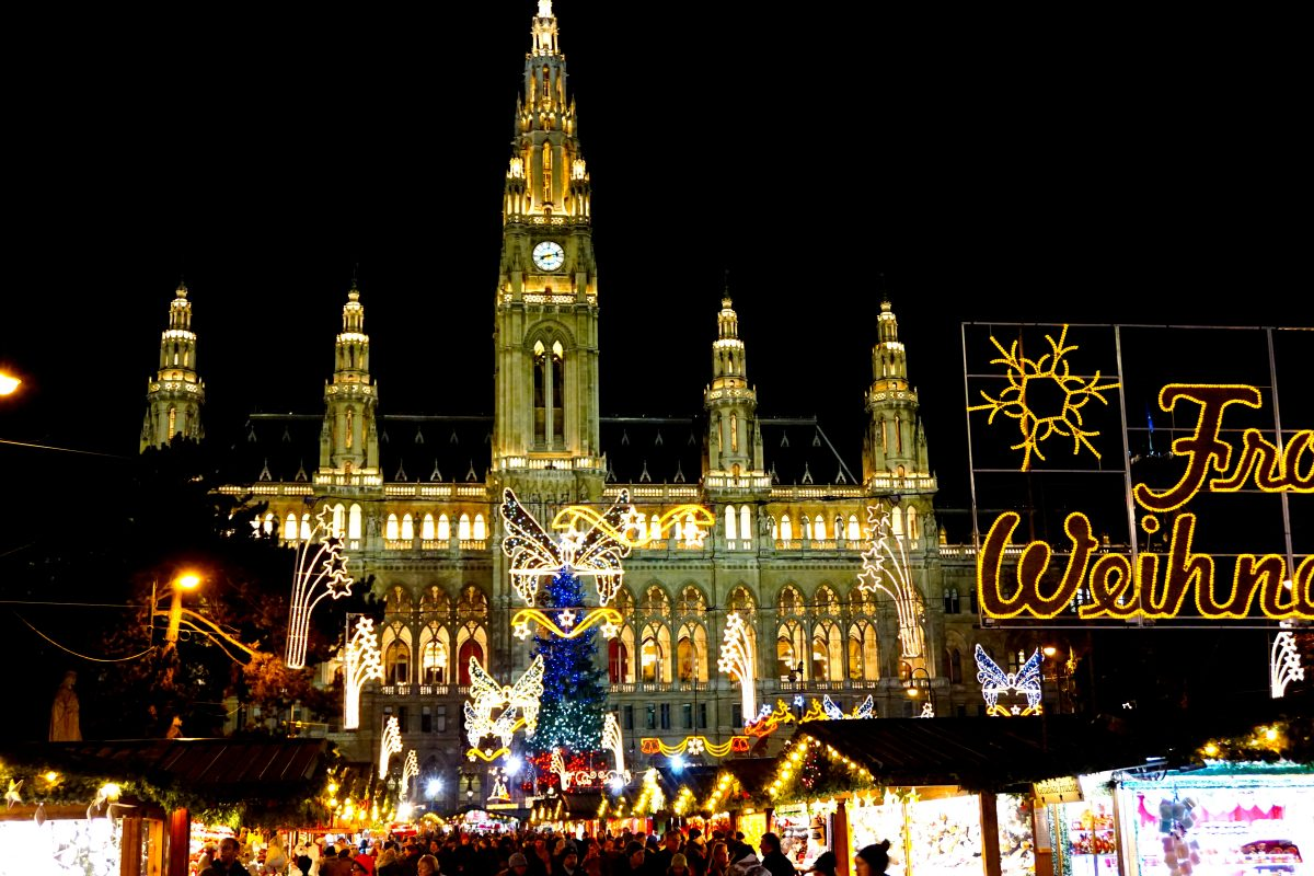 Vienna's Christmas markets are some of the best in Europe.
