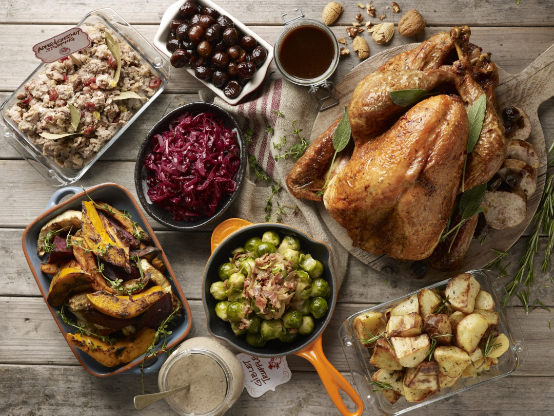 The staples of many Christmas feasts which will appear on many tables this year.