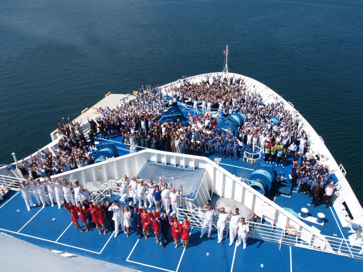 Thousands of people can make up a crew on a ship, each with a vital role in ensuring that your holiday runs smoothly and is memorable.