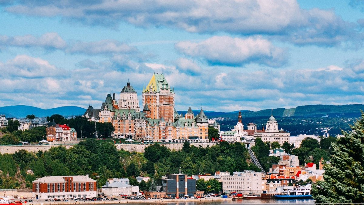 Historically significant Quebec City is the only fortified city in North America.