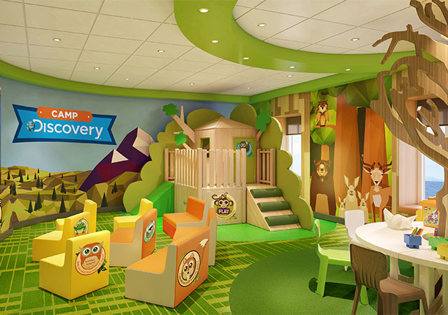 Kids aged 3-7 will soon be able to enjoy The Treehouse and its jungle theme.
