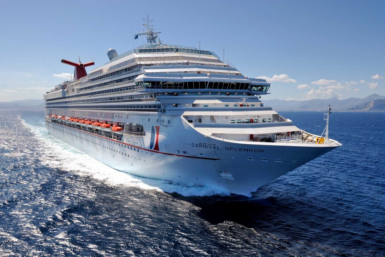 Carnival Splendor will be transferred to the P&O Cruises fleet in 2019.