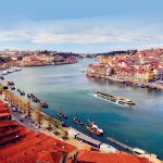 Evergreen Tours ship Emerald Radiance on the Douro River in Portugal.