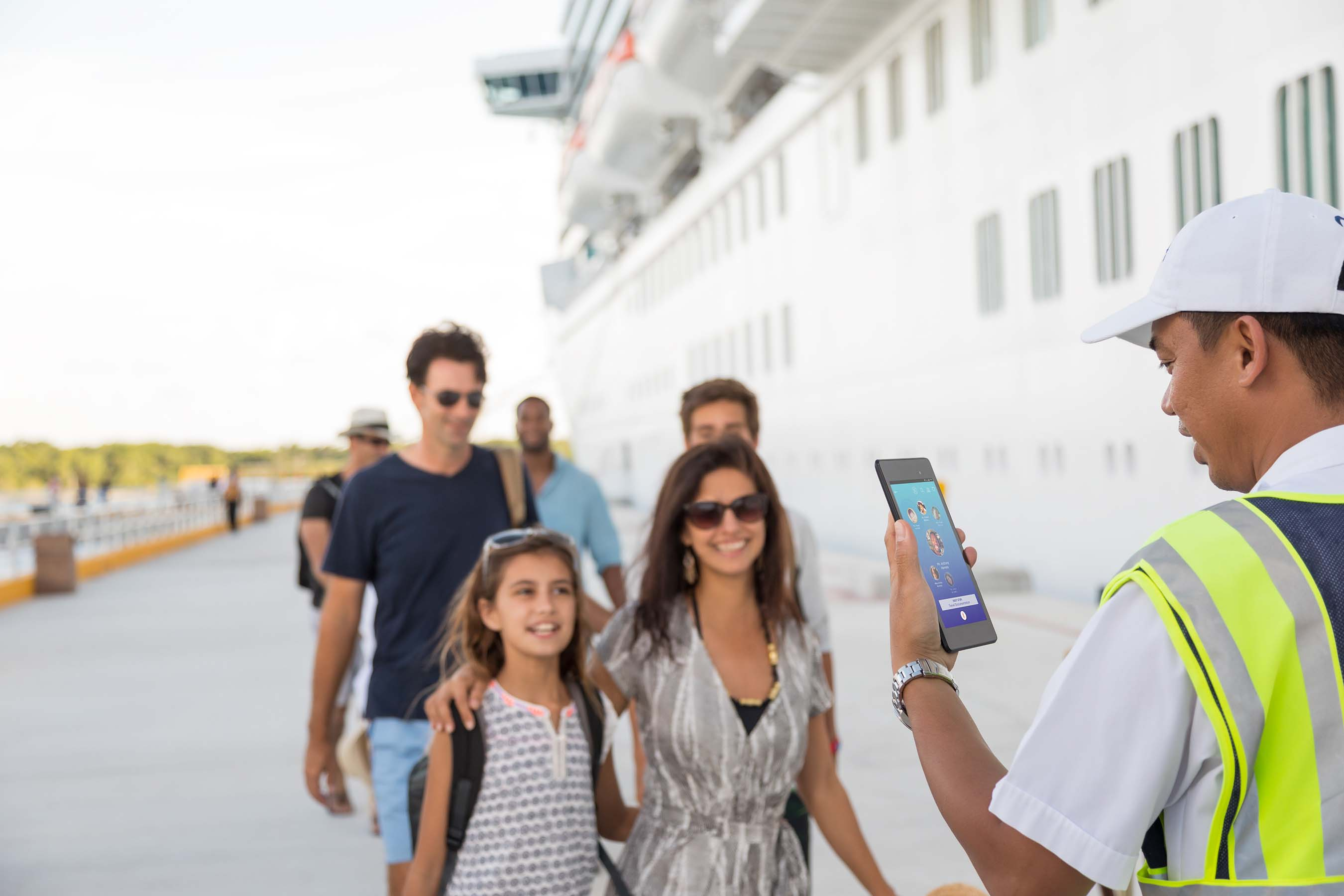 Embarkation will be made simpler and faster with Ocean Medallion owners able to walk right onto the ship with check-in completed.